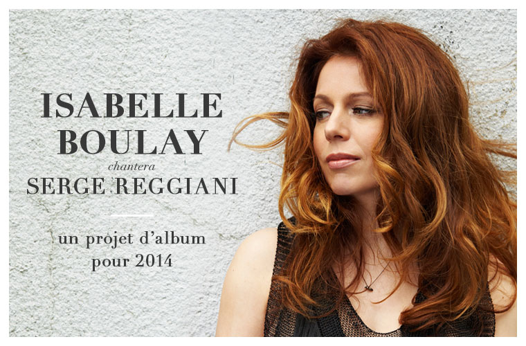 isabelle boulay chante reggiani