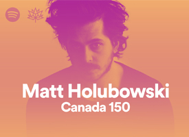 MATT HOLUBOWSKI - Canada 150