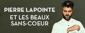 Pierre Lapointe et les beaux sans-coeur